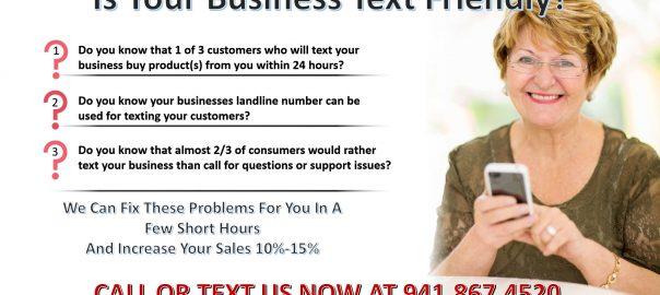 text your business landline